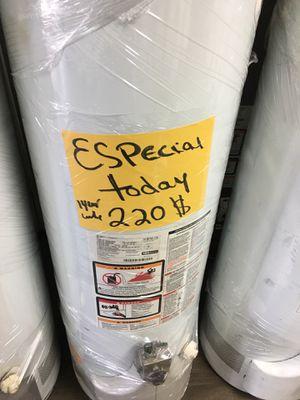 Especial today water heater for 220 1 year warranty for Sale in San Bernardino, CA