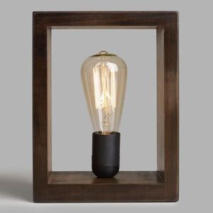 Edison shadow box lamp for Sale in Austin, TX