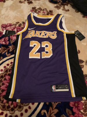 Authentic Nike Lebron James Lakers Jersey for Sale in Minneapolis, MN