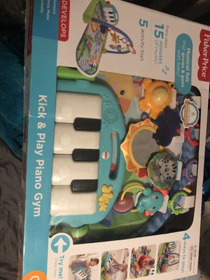 Kick and play piano gym for babies for Sale in San Diego, CA
