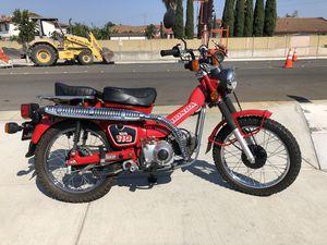 84 Honda 110 trail bike showroom mint condition unrestored for Sale in Huntington Beach, CA