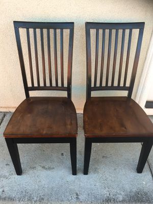 4 Solid Sturdy Wood Chairs for Sale in San Jose, CA