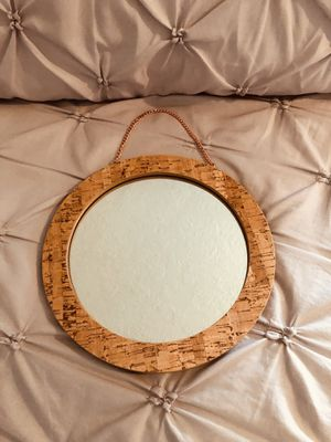 Wood Edge Trim Hanging Mirror for Sale in Bluffdale, UT