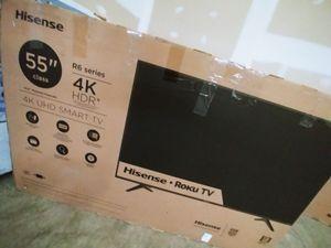 55inch Hisense 4K Smart TV for Sale in Frederick, MD