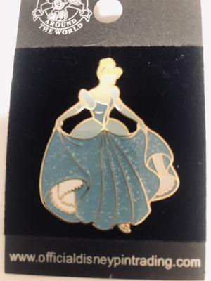 Disney Pin Sparkle Princesses Cinderella in a Blue Glitter Dress for Sale in Orlando, FL