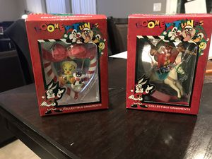 1996/1997 Looney Tunes Collectible Ornaments for Sale in Las Vegas, NV
