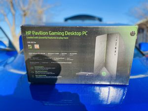 HP Pavillon Gaming Desktop Computer (BRAND NEW IN BOX) for Sale in Plano, TX
