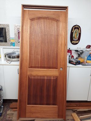 NEW Mahogany wood door for Sale in Fountain Valley, CA