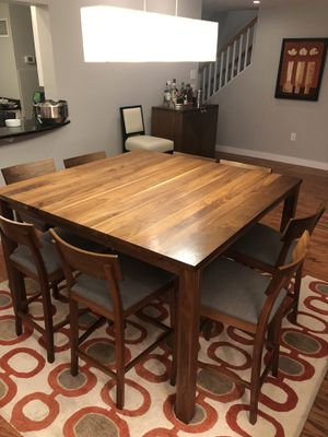 Room and Board solid walnut dining table for Sale in Boston, MA
