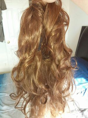 light brown artificial hair for Sale in Ashburn, VA