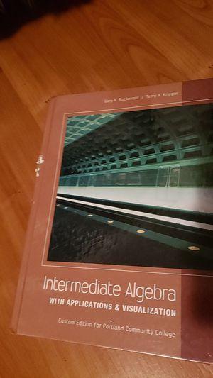Portland Community College intermediate algebra custom edition. Like new. for Sale in Tualatin, OR
