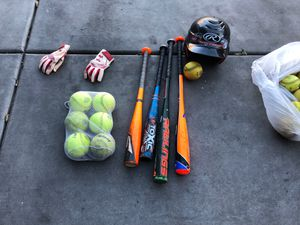 Softball baseball gear for Sale in Goodyear, AZ