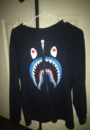 Bape Longsleeve Shirt (Shark Layered) for Sale in Dallas, TX