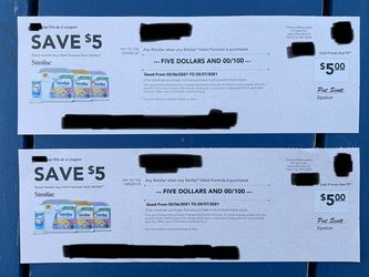 $10 Similac Checks for Sale in Fort Lauderdale,  FL