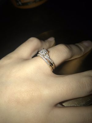 14K GOLD WEDDING RING SET for Sale in Fort Worth, TX