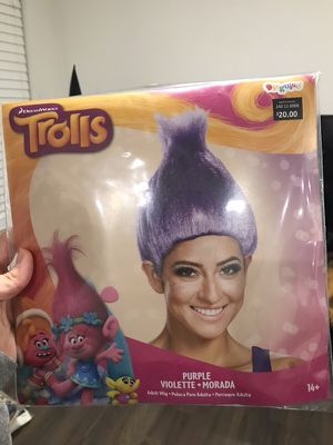 Trolls Wig for Sale in Middlesex, NJ