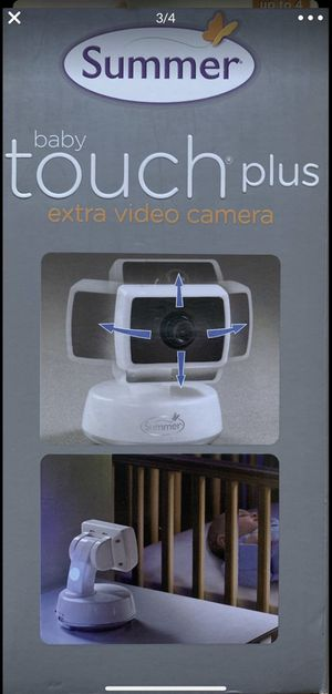 NEW SUMMER BABY TOUCH PLUS VIDEO CAM $49FOR PICKUP ONLY for Sale in Palo Alto, CA