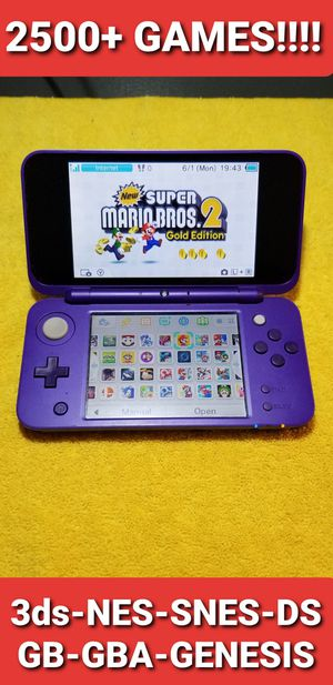 New Nintendo 2ds XL with 2500+ GAMES!!!! for Sale in National City, CA