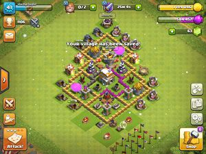 Clash of clans town hall six for Sale in Hyattsville, MD