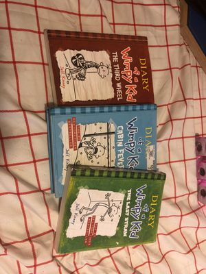 3 diary of a wimpy kid books never used for Sale in Branford, CT