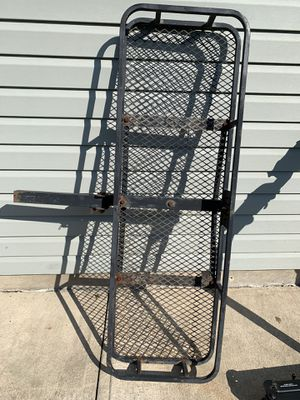 Hitch Mount Folding Cargo Luggage Carrier for Sale in Olmsted Falls, OH