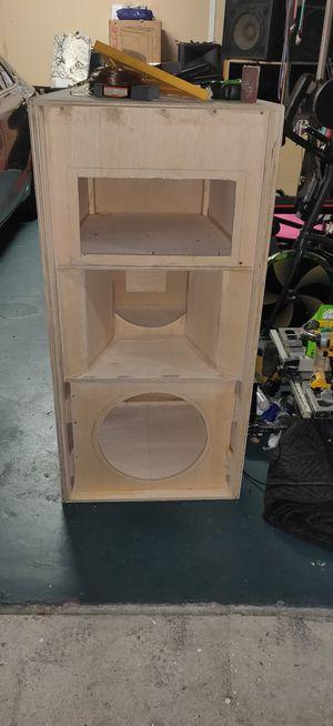 CUSTOM SPEAKER BOXES for Sale in Orlando, FL