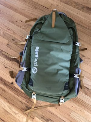 Pacsafe Travel Hiking Backpack Bag for Sale in Los Angeles, CA