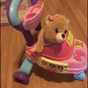 VTech Cutie Paws Puppy Stroller With Plush Puppy and Accessories for Sale in Prospect Heights, IL
