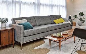 Joybird Franklin Sofa, Mid-Century Modern Florence Knoll Style 4 Seater for Sale in Seattle, WA