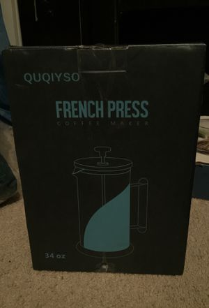 Quqiyso French press coffee maker for Sale in Columbia, SC
