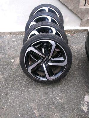 "19"" OEM Honda Accord Sport wheels rims black for Sale in Riverdale Park, MD"
