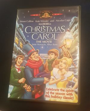 Christmas Carol The Movie DVD for Sale in Columbia, SC