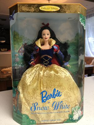 1998 Barbie as Snow White for Sale in Katy, TX