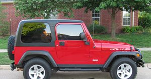 Red 2004 WRANGLER JEEP 4X4 AWDWheels Good for Sale in Colorado Springs, CO