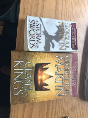 Game of throne books for Sale in Milton, PA