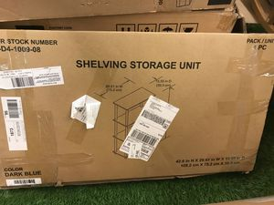 "Shelving storage unit 42"" x 30"" x 15"" deep for Sale in Parma Heights, OH"