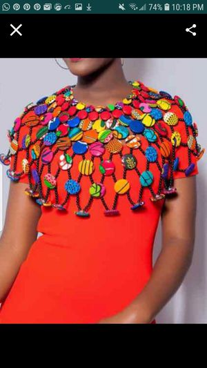 Buttons and beads cape - it's fits all sizes for Sale in Baltimore, MD