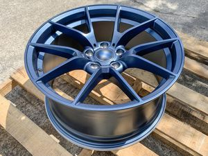 """Bmw 325o 19"""" m style rims tires set for Sale in Hayward, CA"""