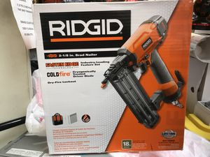 """Rigid 2-1/8"""" Brad Nail Gun for Sale in Orlando, FL"""