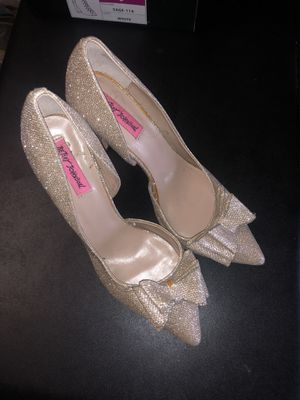 Betsey Johnson bow heels for Sale in Jacksonville, FL