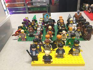 Lego Harry Potter Set 50 minifigures for Sale in Huntington Beach, CA