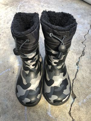 Boys Western Chief Waterproof-cold rated Boots for Sale in Chehalis, WA