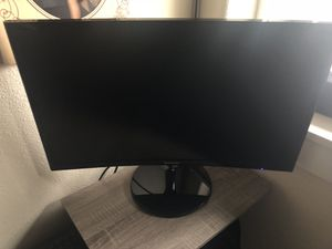 Samsung curved monitor for Sale in Oregon City, OR