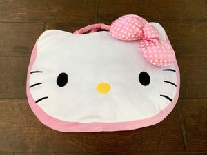 Hello Kitty Throw with Pillow Storage - $20 or make a reasonable offer: In NEAT & CLEAN Condition for Sale in Orange, CA