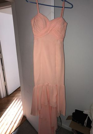 Mermaid peach dress for Sale in Chicago, IL