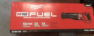 New Milwaukee Fuel ⛽ Sawzall for Sale in North Miami Beach, FL