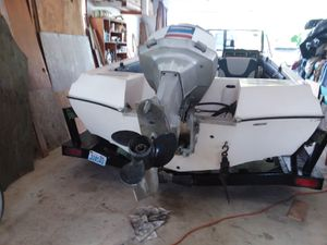 17 foot 1985 Monark Outboard for Sale in North Bonneville, WA
