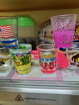 Collectible shot glasses for Sale in Land O Lakes, FL