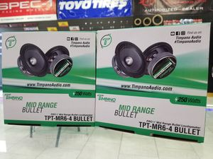 TIMPANO MID RANGE BULLET SPEAKERS (SUPER SALE) for Sale in Tampa, FL