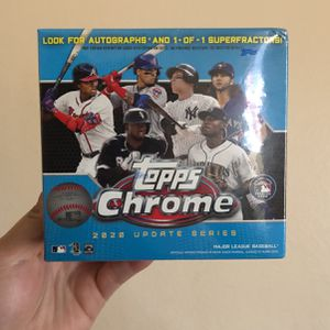 Topps Chrome 2020 Baseball Trading Cards for Sale in Los Angeles, CA